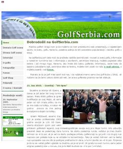 Golf Serbia 2008